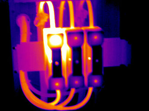 Fuse Link and Base Thermal Image