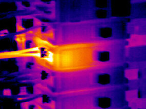 Thermal Image of MCB